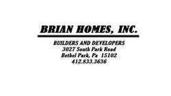 brian homes good