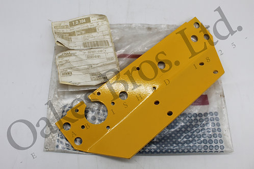 New Holland Combine Header Multi Fastener & Electrical Connector Support Plate.
