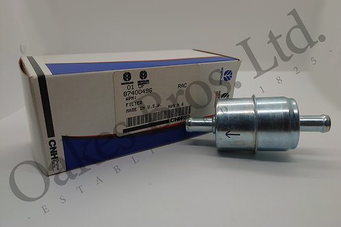 New Holland In Line Fuel Filter