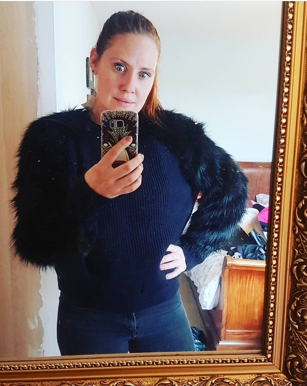 That time I bought a jumper that made me look like an actual monkey.