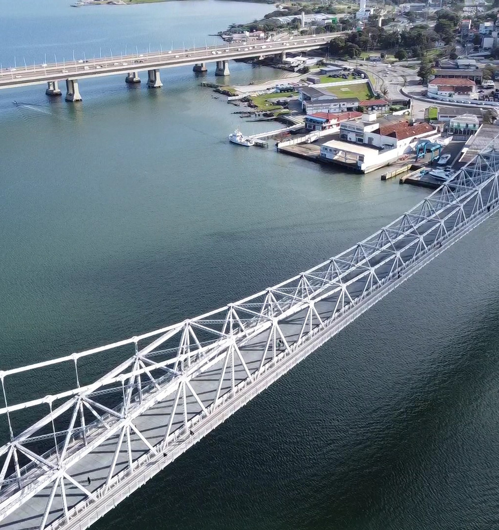 Ponte Hercílio Luz - Florianópolis - SC