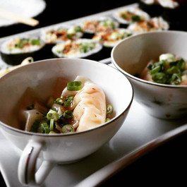 Repost from _michaltellos _Thank you for the write up in the _windsorindependent. _Steamed Shrimp Dumplings in Shiitake Soy. ._._.jpg