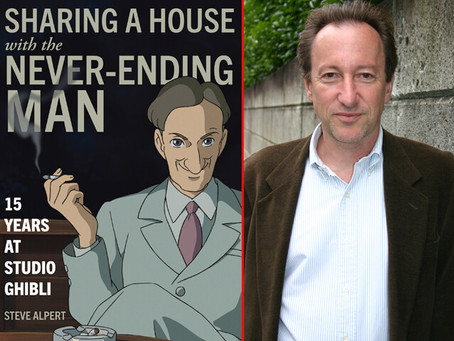 SoraNews24 interviews Steve Alpert on his upcoming memoir and time at Studio Ghibli