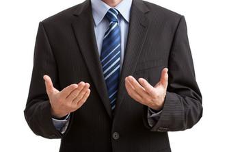 A linguagem corporal do líder