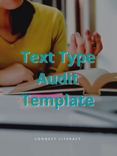 Text Type Audit Template
