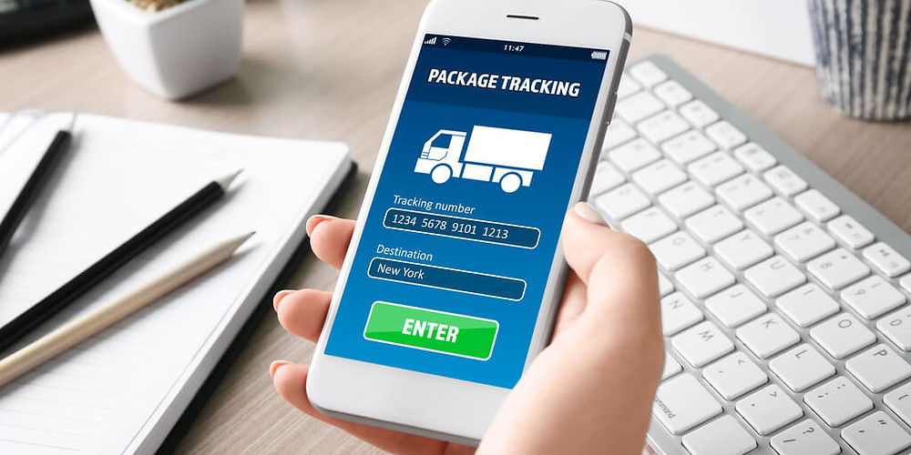 tracking parcels red rocket courier service