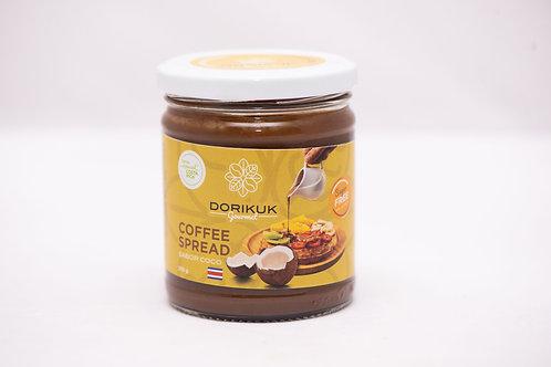 Coffee Spread sabor coco, sin azúcar. Peso: 255 g