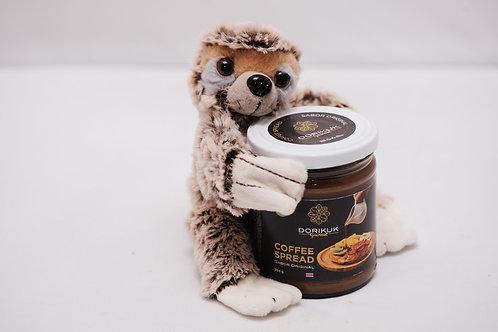 Cofee Spread sabor original. Peso: 255 g +Peluche de oso perezoso