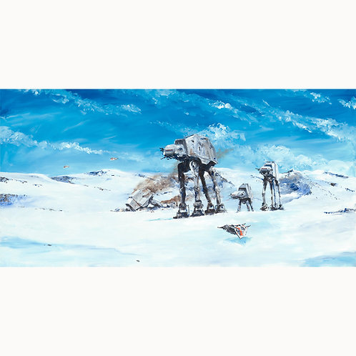 Imperial Walkers on theNorth Ridge