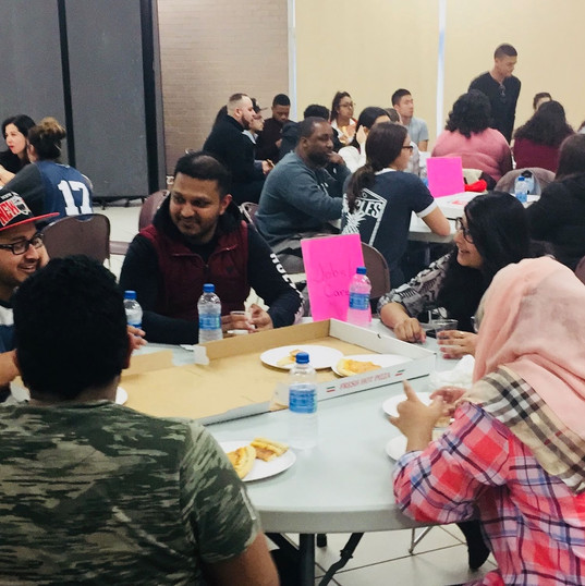 Students at Reflect events laugh, smile, and forge real connections.
