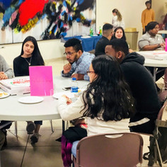 At Reflect events, students listen with warmth and care as their peers open up.