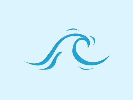 Surfing a Tsunami