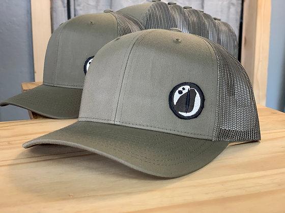 Gator Outdoors Eye Logo Patch Hat - Richardson Hat - Olive
