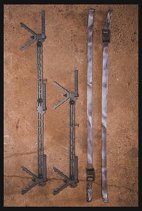 D'Acquisto Series Climbing Sticks Compact Length 4 pack