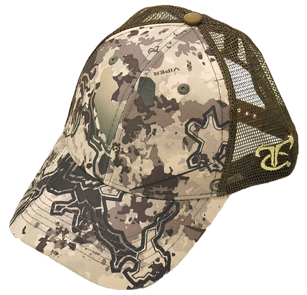 Blank Viper Western Hat W/ Brown