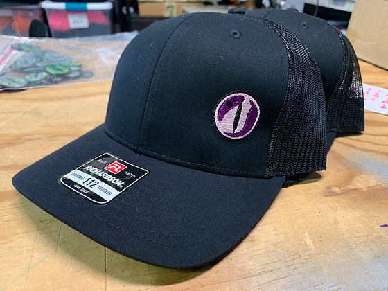 Women's Gator Outdoors Eye Logo Patch Hat - Richardson Hat - Black