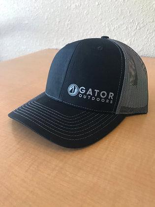 Gator Gear Black Grey Mesh Hat
