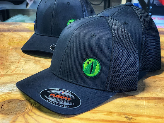 Youth Gator Hat - Black Flexfit