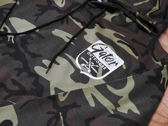 Classic Camo Hoodie - Gator Badge Logos