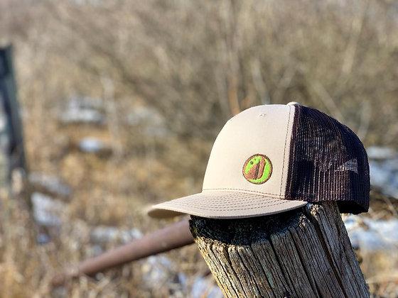 GATOR Sand Colored Eye Logo Hat