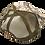 Thumbnail: Blank Viper Western Hat W/ Brown