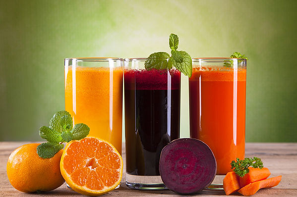 How-  Eat Healthy During the Holidays sof Juice