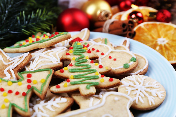 How to Eat Healthy During the Holidays Christmas Cookies