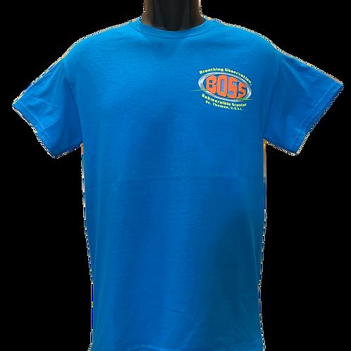 Blue BOSS Short Sleeve T-shirt