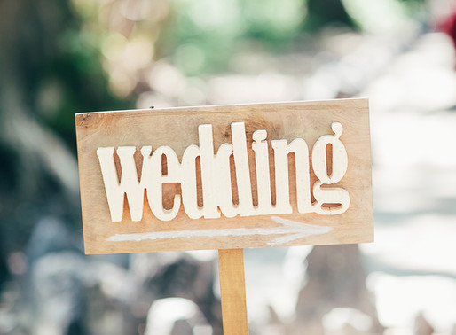 Special offers for wedding bookings during November 2020