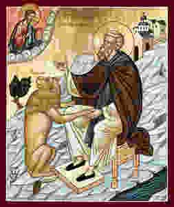 04-03 São Gerásimo do Jordão, monge († 475) 2.jpg