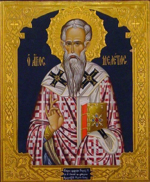 São Melécio, arcebispo de Antioquia