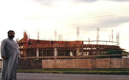 1994_02_07 Construçao Igreja de Brasilia