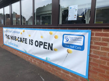 look out for the open banner