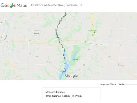 Overnight Kayak Adventure from East Fork of Whitewater River to Brookville Reservoir