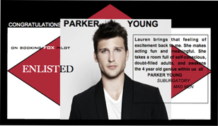 Congrats to PARKER YOUNG for your new pilot ENLISTED!