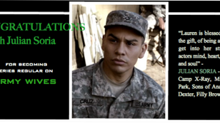 JULIAN becomes a SERIES REGULAR on ARMY WIVES! YAY!