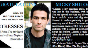 Love drama?! Be sure to watch Micky on Mistresses....