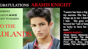 "GOOD work booking ""Into the BADlands"", Aramis!"