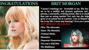 "Brit Morgan on ""Graceland"""