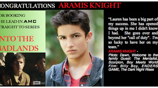 Check out this new AMC series starring Aramis Knight!