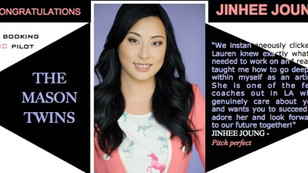 Congratulations to Jinhee Joung for booking NBC pilot The Mason Twins!