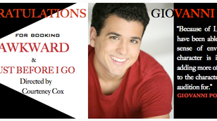 It would be AWKWARD if we weren't excited for Gio's awesome bookings!