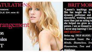 You better ARRANGE your tv schedule to catch Brit!