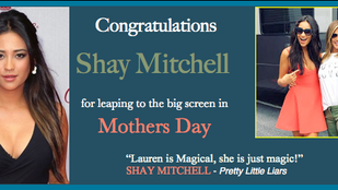 Shay is hitting the big screen!!