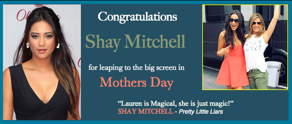 Shay Mitchell Mothers Day