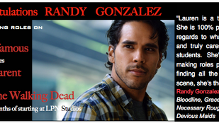 MULTIPLE Television bookings in just a few months! Congrats, Randy!