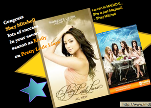 Shay Mitchell Books Pretty Little Liars