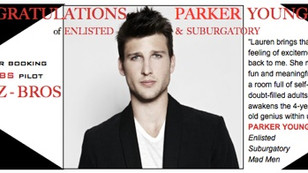 Congrats to PARKER YOUNG on booking pilot CUZ-BROS!