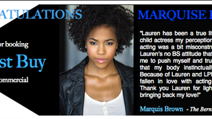 You're the BEST, Marquise!!