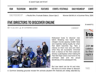 Lauren Patrice Nadler is named one of the top 5 directors to discover